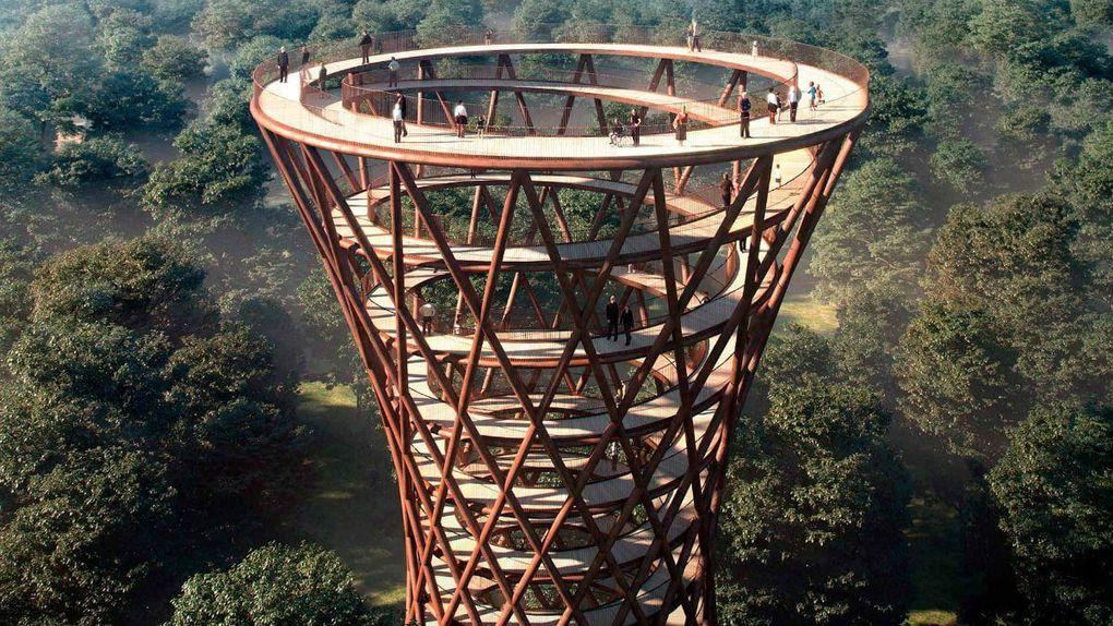 Camp Adventure Tower Дания
