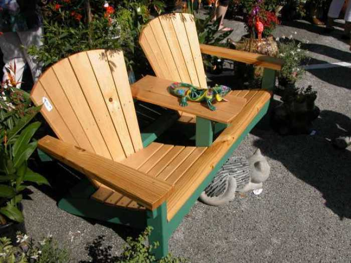 Мебель в стиле адирондак — стильная практичность на вашем участке