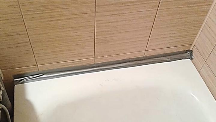 ✴ Надежный и проверенный способ закрытия щели между ванной и стеной✴