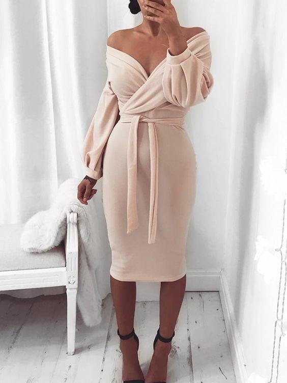 20 элегантных платьев для обладательниц пышных форм