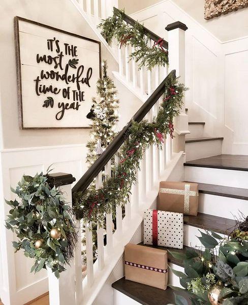 Украшаем дом к Новому году: 22 лучших идеи