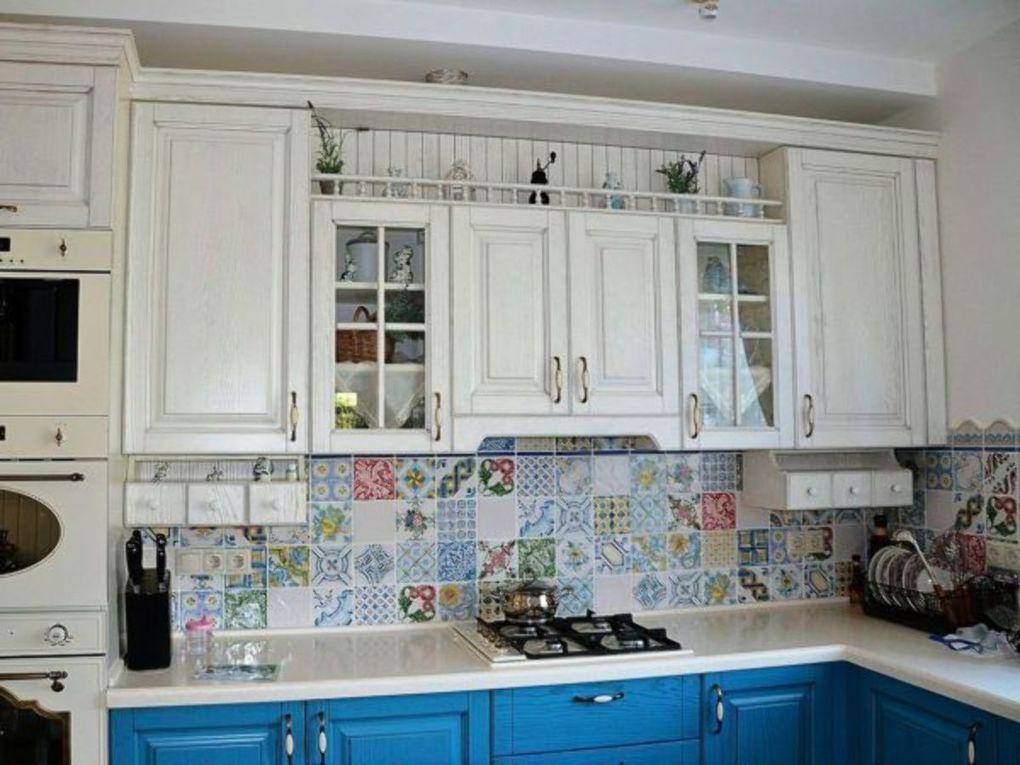 кухня в стиле французский прованс