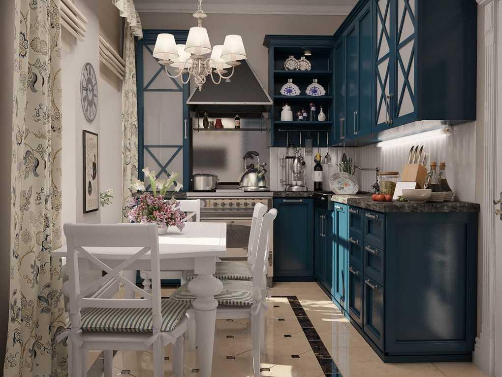 маленькая французская кухня
