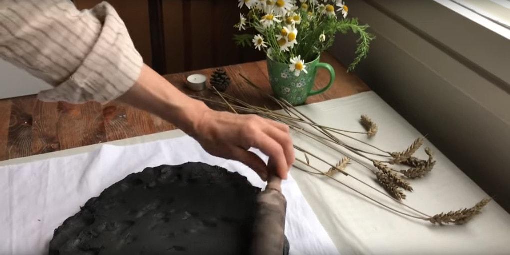 Простая и удивительно красивая техника для создания объемных картин