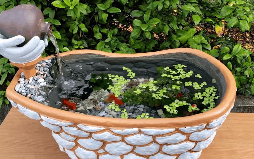 Детская ванночка + немного креатива: декор с продуманной функциональностью