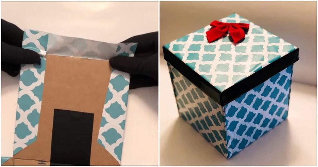 Подарочная коробка с секретом: оригинальный штрих, добавляющий креатива