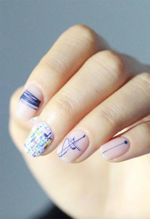 65 впечатляющих примеров маникюра для коротких ногтей