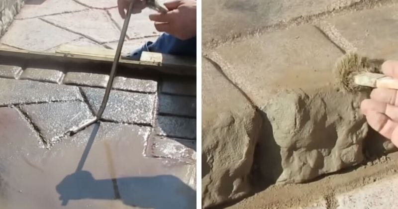 Неоднородный бетон шлифмашины по бетону