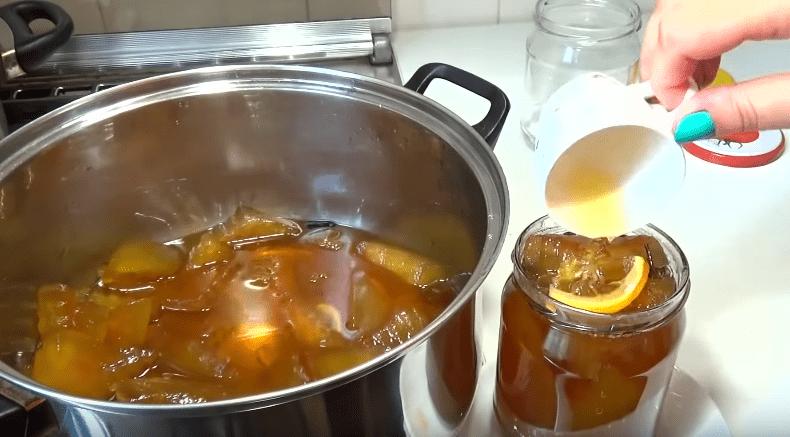 Варенье из арбузных корок на Зиму! Янтарное и очень вкусное