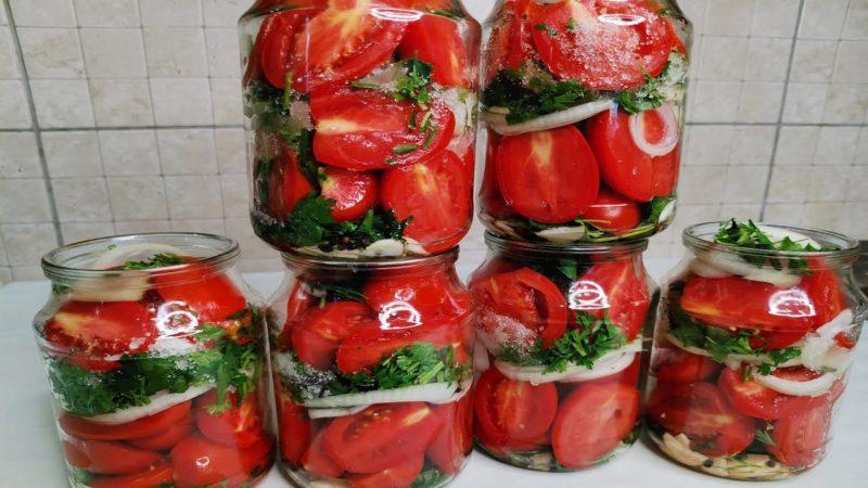У этой закрутки на зиму рассол даже вкусней, чем помидоры! Обязательно к повторению