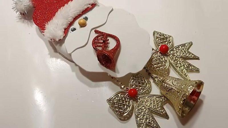 Настоящее новогоднее чудо получается из обыкновенных крышек
