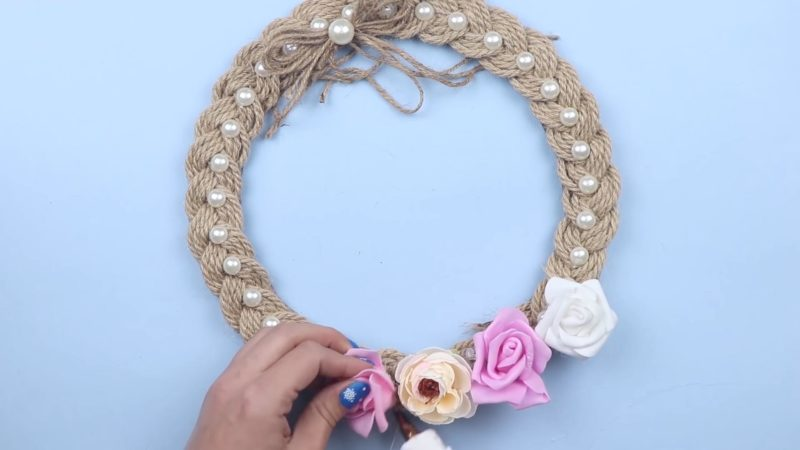 Идеи для декора из веревки своими руками