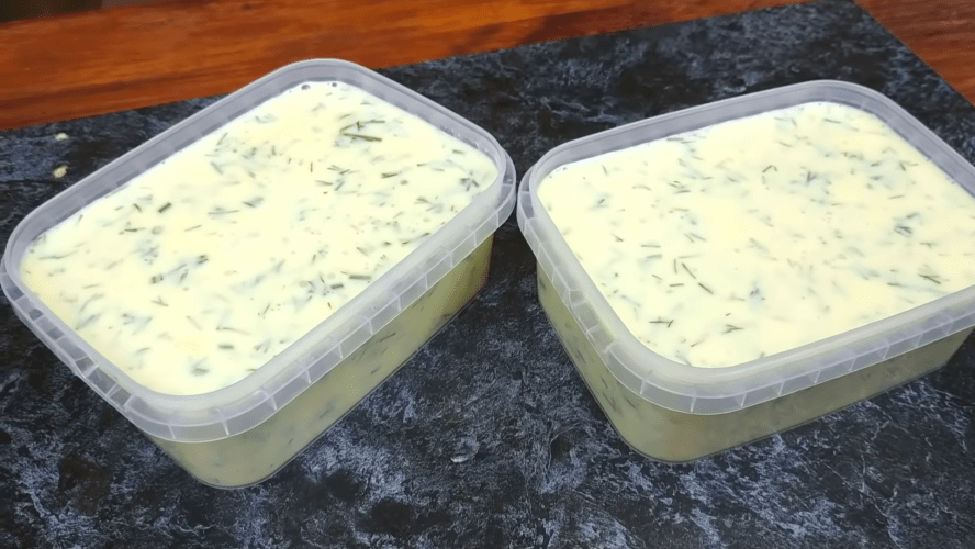 Нежный плавленый сыр на скорую руку