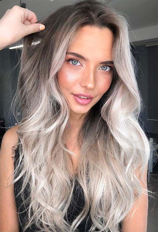 Тренд белых «ледяных» волос покоряет сердца женщин