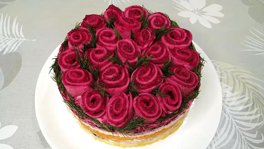 Букет роз для гурманов: шикарная подача — простое приготовление