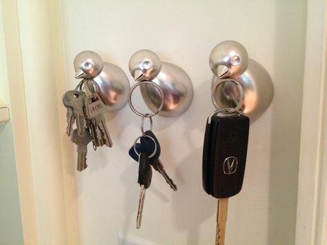 """магнитные """"крючки"""" для ключей"""