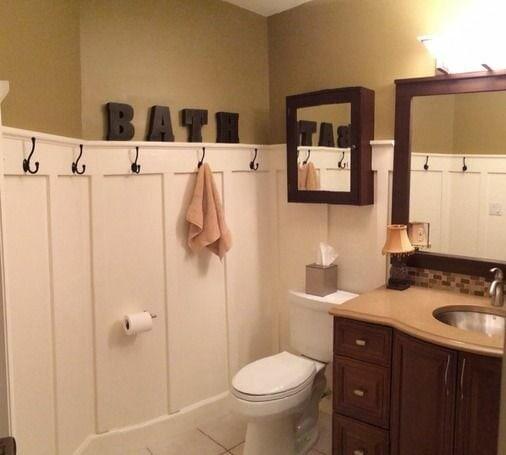 крючки в ванной по периметру