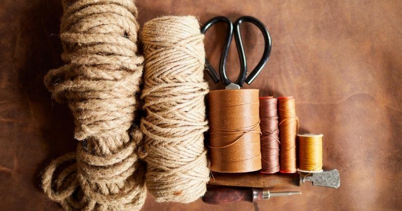 15 удивительных поделок для дома из обыкновенной верёвки