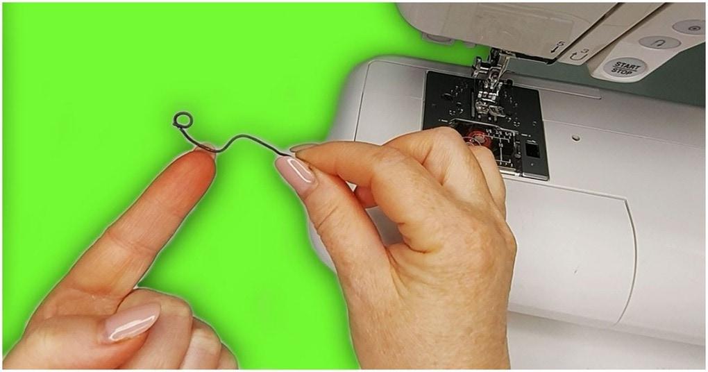 Простое швейное приспособление позволить вам шить толстыми вязальными нитками на швейной машине