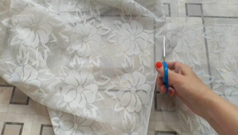 Прежде чем выкинуть надоевший тюль, посмотрите эту полезную идею повторного использования