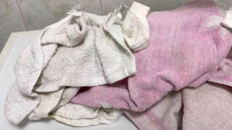 Всегда работающий способ отбелить и смягчить махровые полотенца. Секретный ингредиент