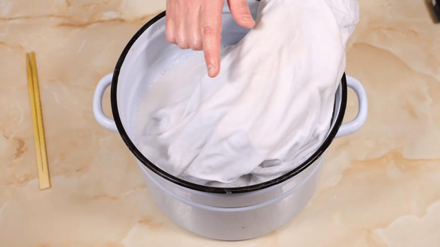 Крутой способ отбелить белье без кипячения и отбеливателя