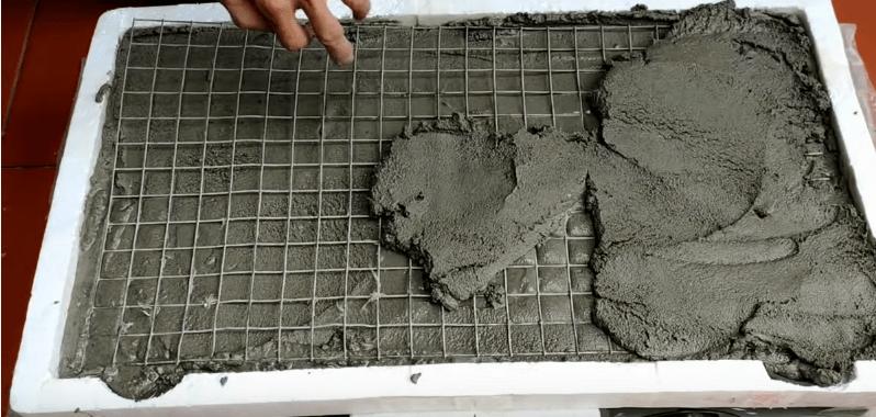 Отличная идея из нерабочей плиты. Каждому пригодится на участке